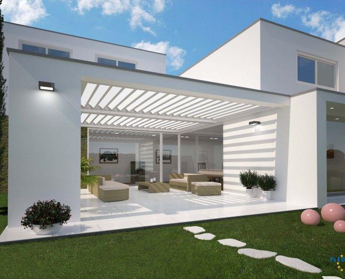 Bilder und Referenzen FLEDMEX Lamellendach für unterschiedliche - markisen fur balkon design ideen