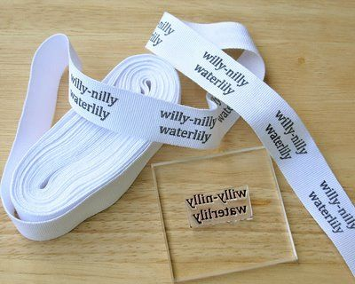 DIY Project. You can create your own sewing fabric tags for