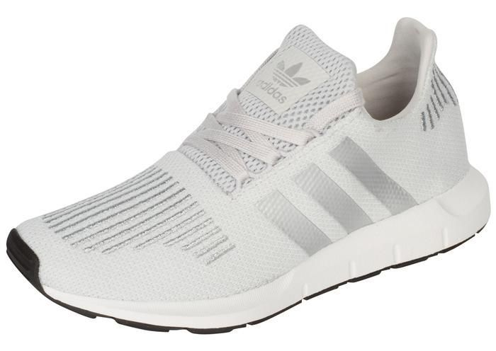 90fd32d17 adidas Womens Swift Run Grey One Silver White