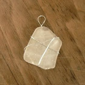 How to make sea glass pendant without drilling hole jewelry how to make sea glass pendant without drilling hole mozeypictures Images