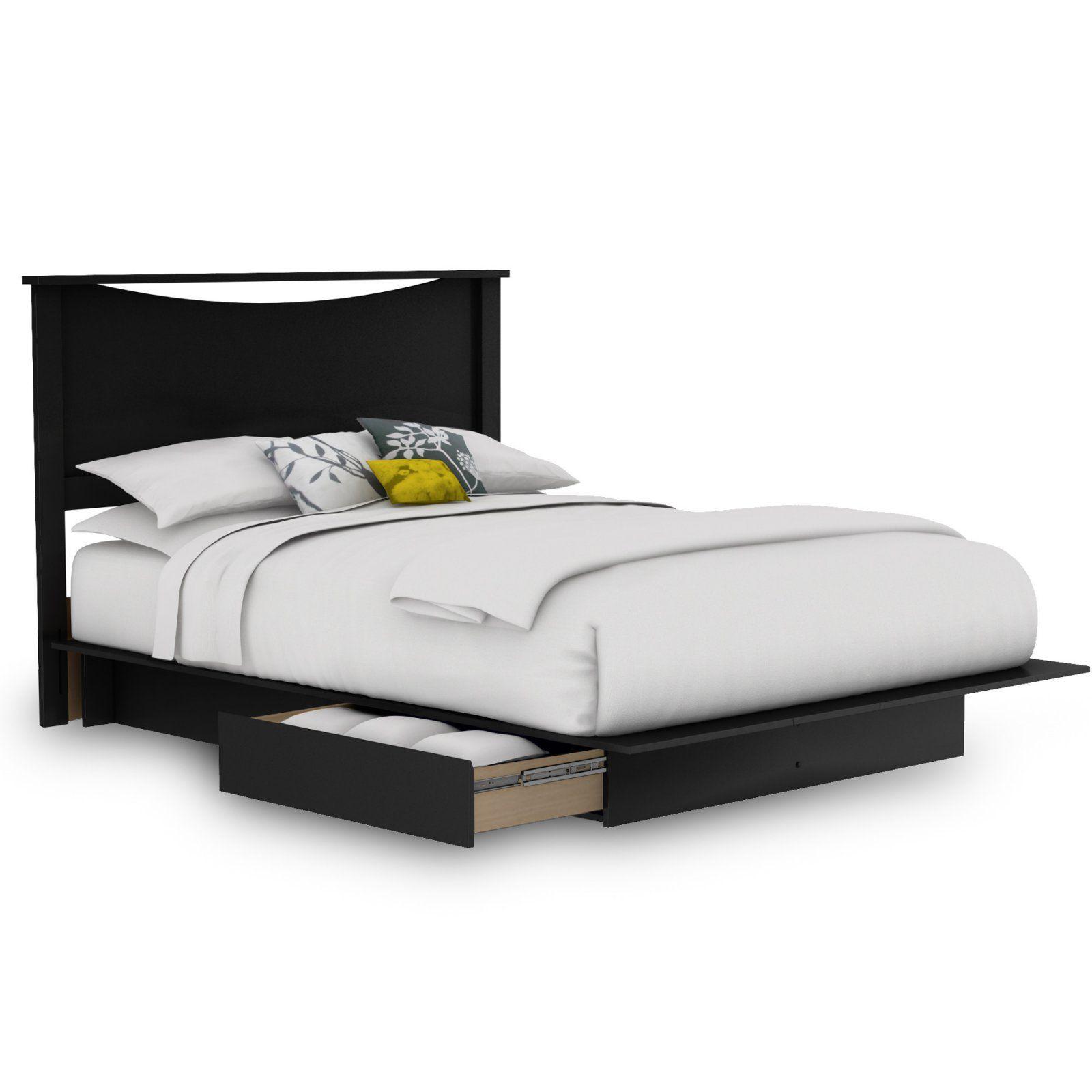 Step One Platform Bed Size Queen Black Platform Bed Bed