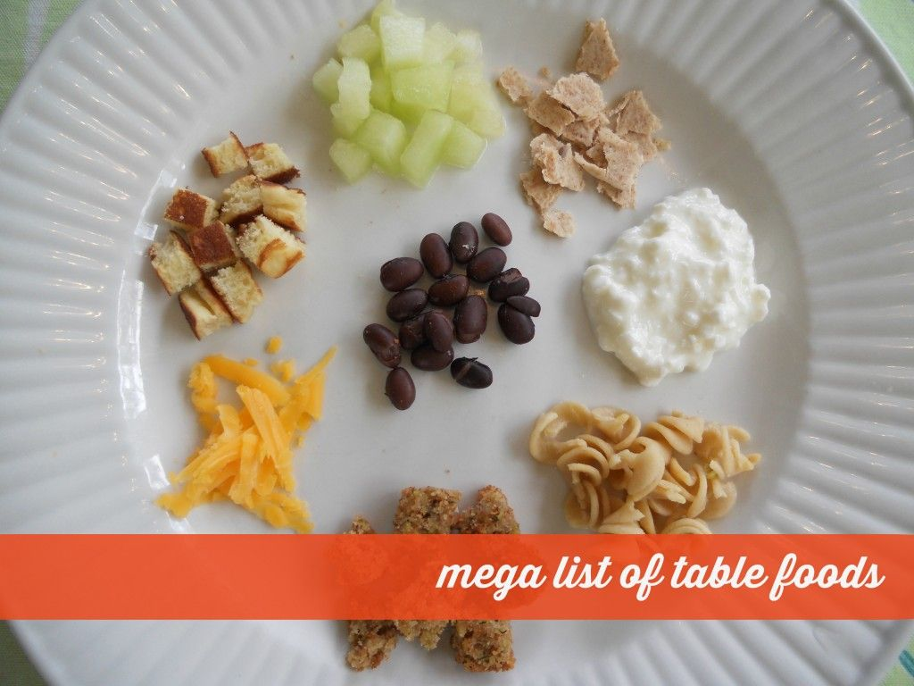 Mega List Of Table Foods For Your Baby Or Toddler 9 Month Old8