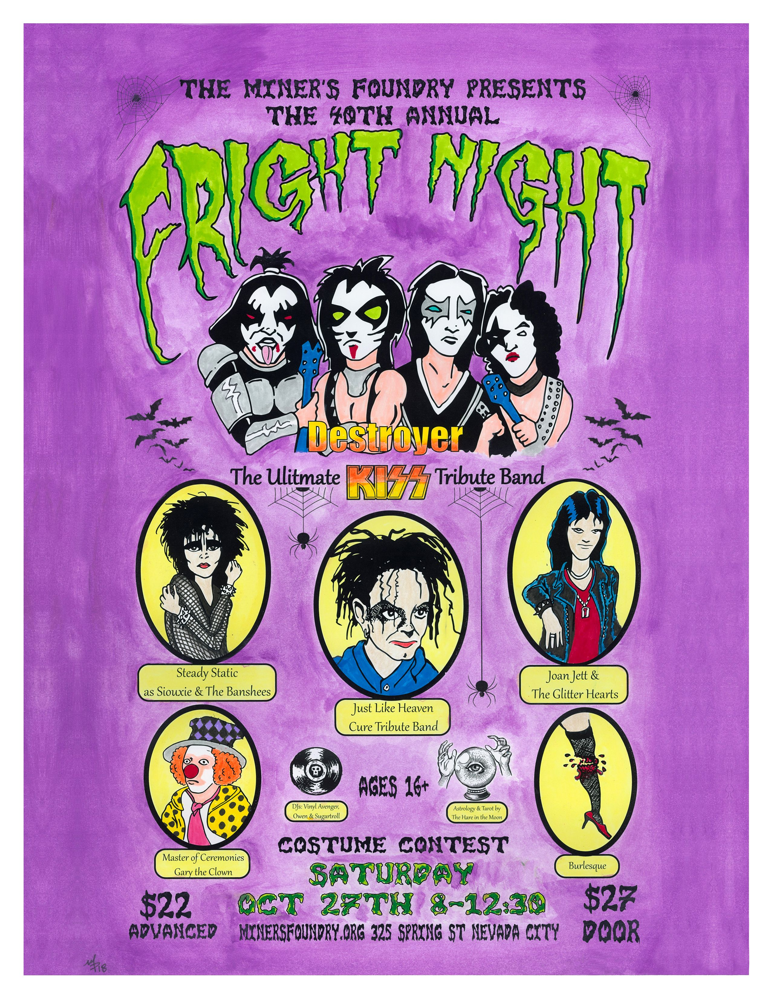 Fright Night 2018 Fright night, Nevada city, Halloween