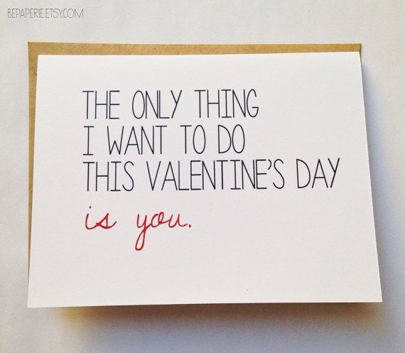 14 valentines day cards for your sweetie - Naughty Valentines Gifts