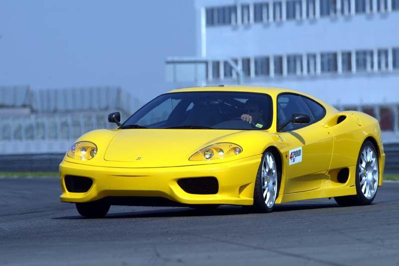 Testing Seriously Ferrari 360 Challenge Stradale In Adria Race