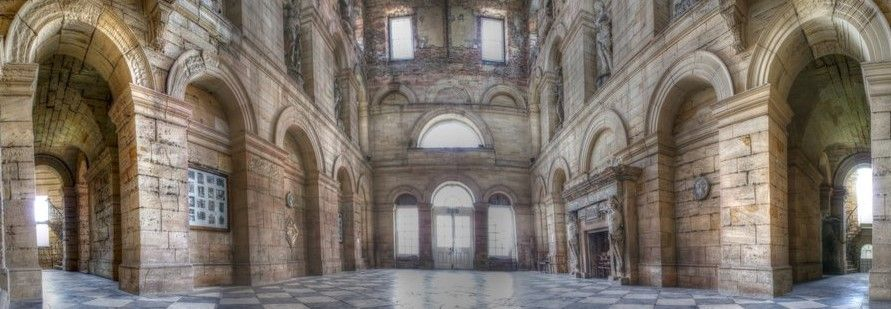 Seaton Delaval hall Central hall
