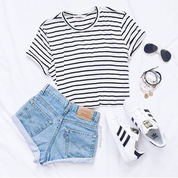 50 cute summer outfits ideas for teens ubrania outfit for Mode bekleidung schule frankfurt