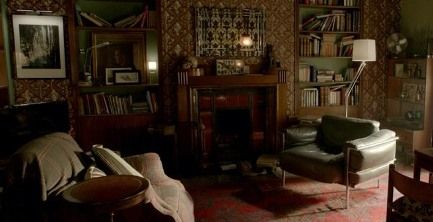 Sherlock Series 3 Producer Shares First Photo Of Completed 221b Set Alter Ego Pinterest