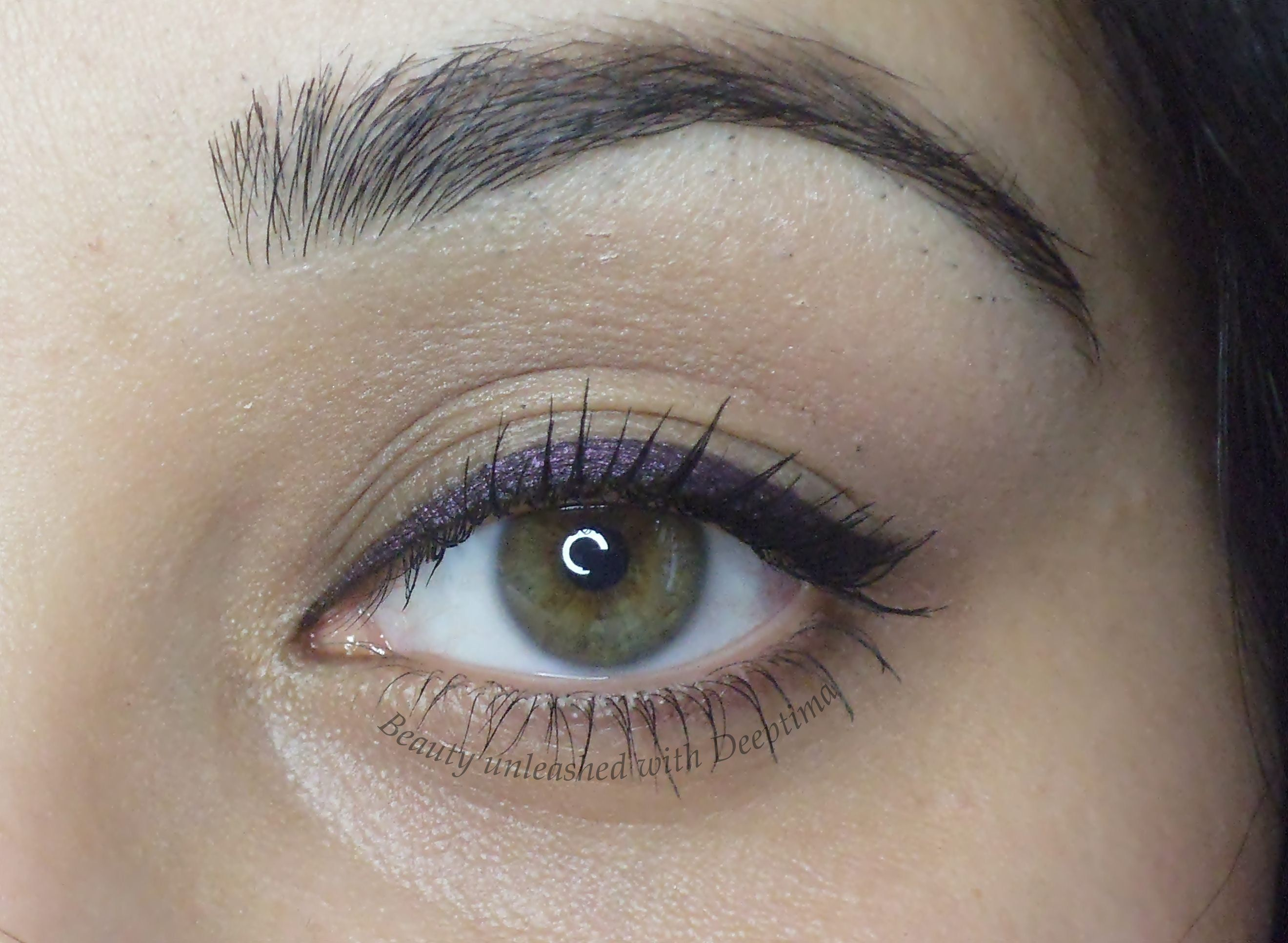 Everyday Simple Purple eyeliner   My Makeup Looks ...