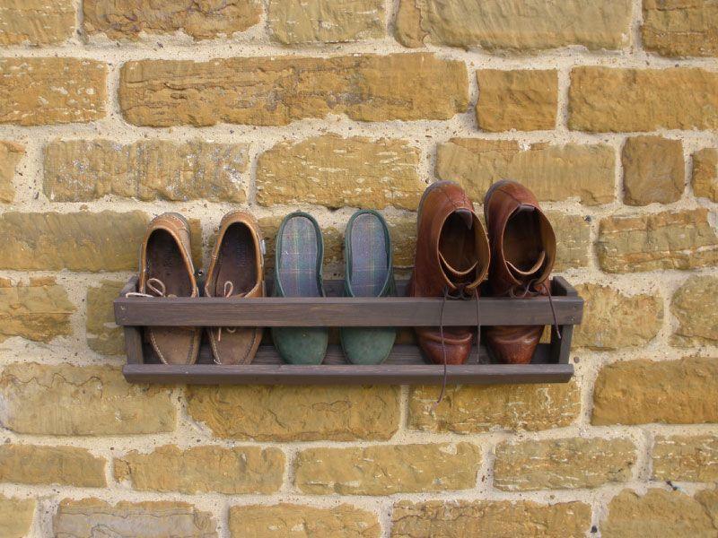 Wall Hanging Shoe Rack cute shoe rack for a mud room … | pinteres…