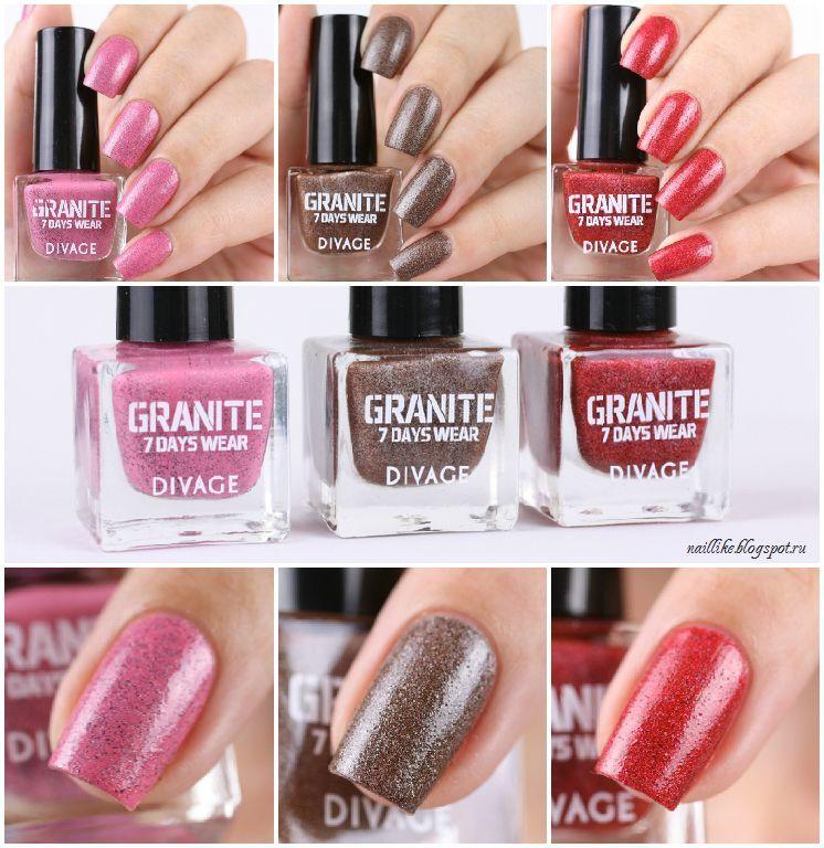 Divage лак для ногтей granite