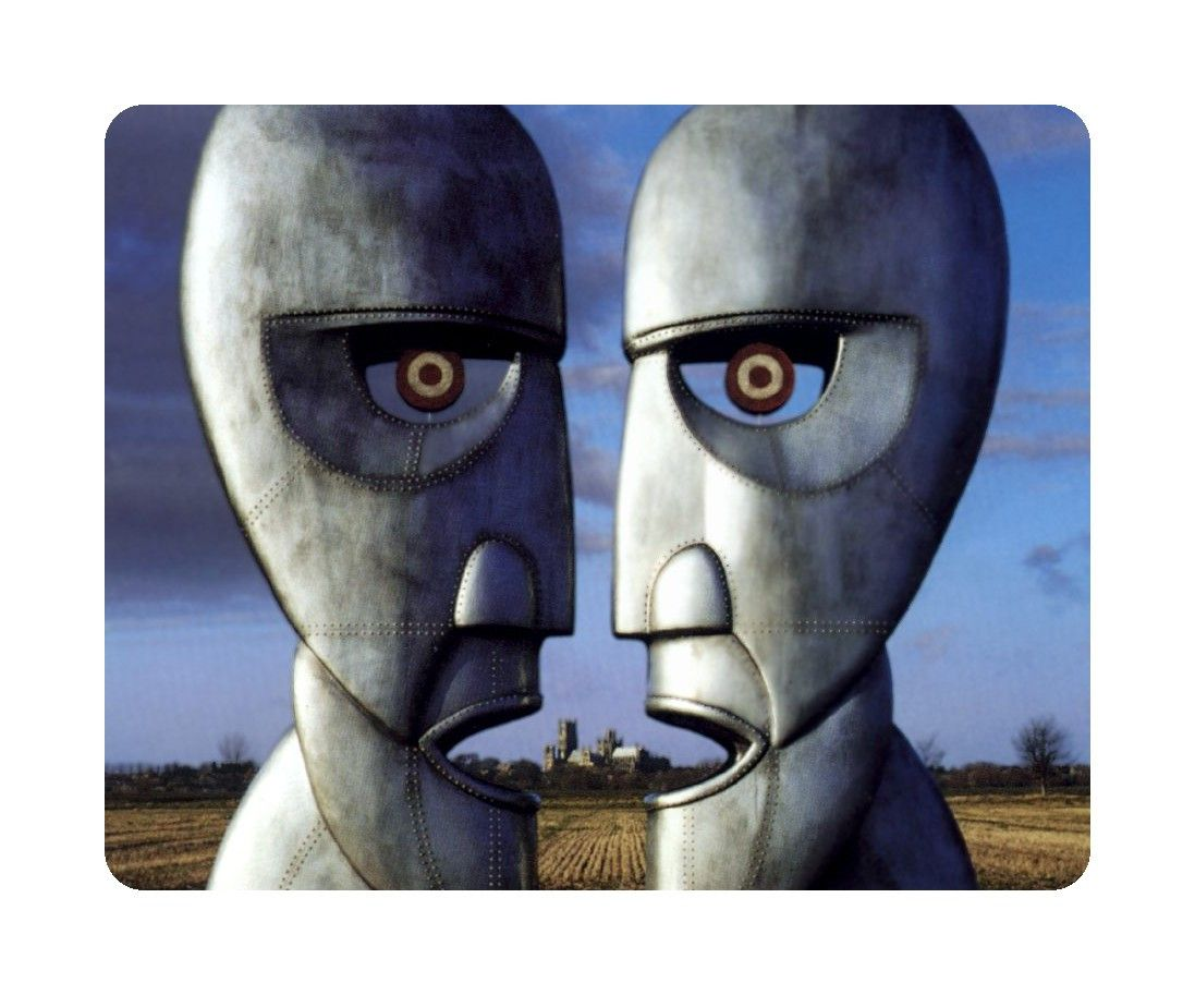 Awesome Music Mouse Pad Pink Floyd Division Bell