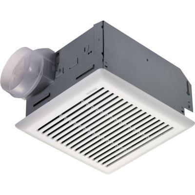 Nutone 110 cfm wall ceiling utility exhaust fan 672r at - Panasonic bathroom fans home depot ...