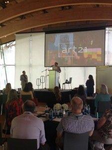 Distance Learning Summit @ Crystal Bridges. Blog post by Dana Kletchka