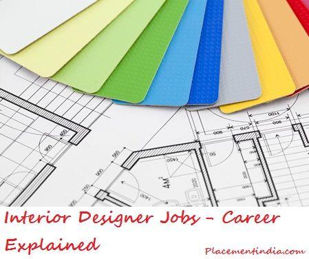 interior designer jobs - career explained #interiordesigner