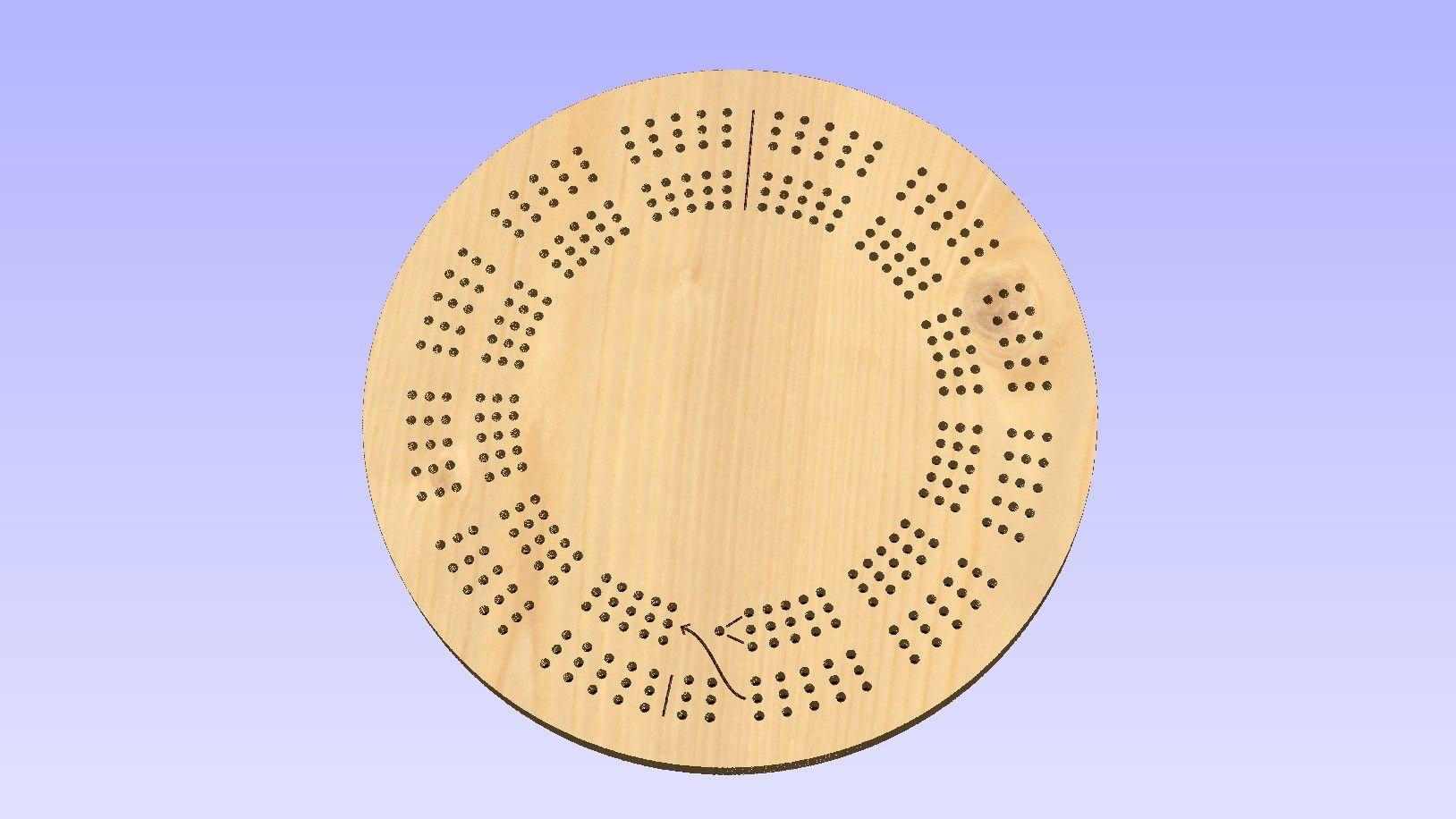 Cribbage Board Templates Printable Cribbage Board Templates Wood