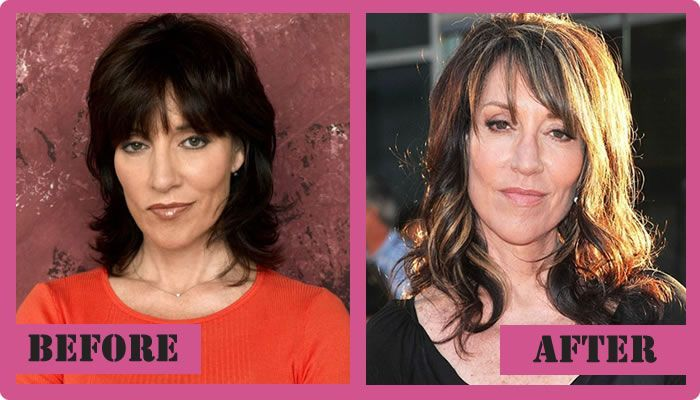 Are katey sagal boob job commit