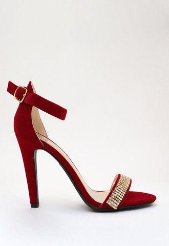 Viva Glam Sandal - Red Sparkle