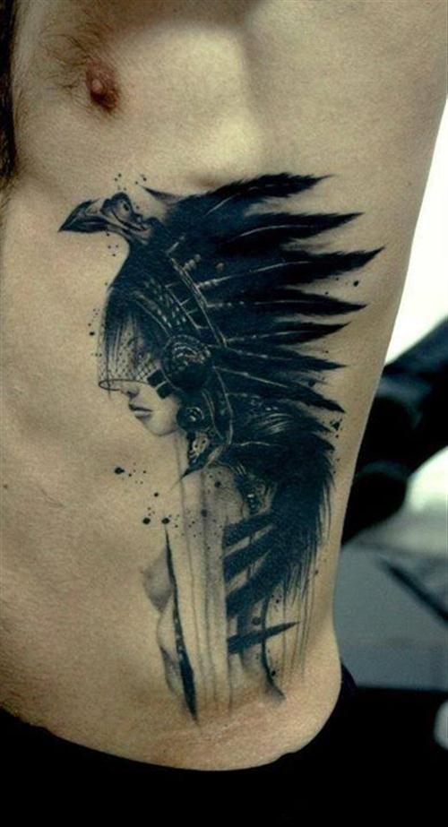 27 Cool Rib Cage Tattoos Ideas For Men Me Pinterest Tattoos