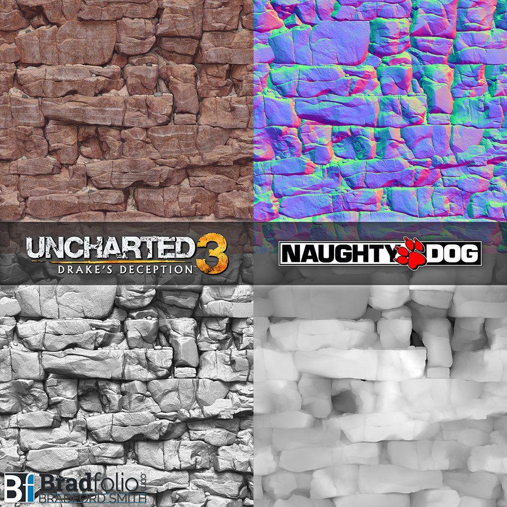 Artstation Uncharted 3 Texture Samples Bradford Smith Enviro
