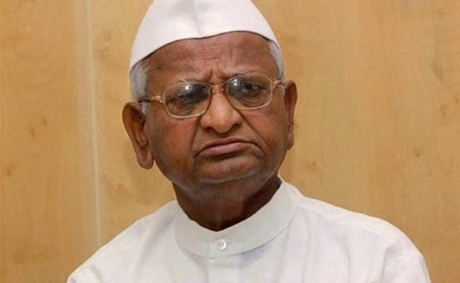 Anna Hazare Questions Arvind Kejriwal For Removing Donor List From AAP Website