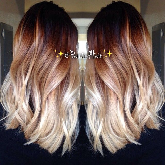 10 Two Tone Hair Colour Ideas To Dye For Popular Haircuts Hair Styles Ombre Hair Long Hair Styles
