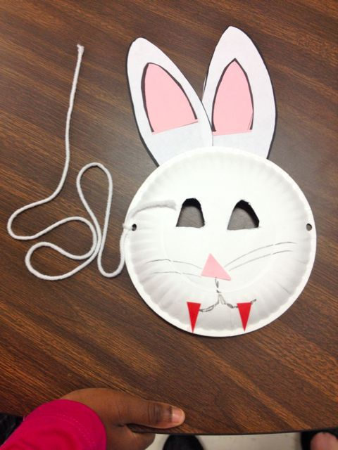 Bunny Mask (for Max & Ruby party...minus the fangs)
