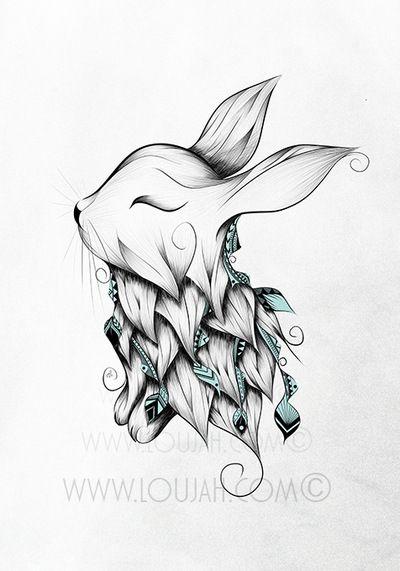 cute bunny tat … | tattoo's. en 2019…