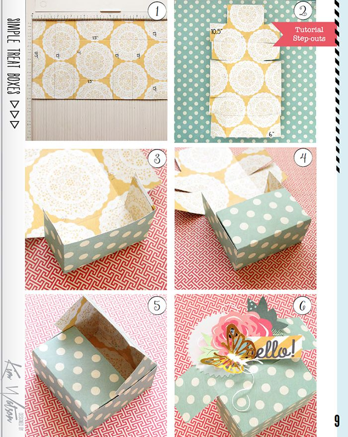 Kim watson design papercraft how to make pretty paper gift kim watson design papercraft how to make pretty paper gift boxes without a template negle Images