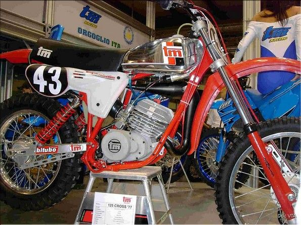 TM 125cc. cross 1977