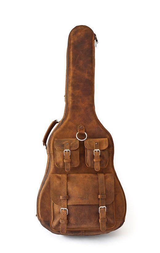 Leather Guitar Case Guitar Case Leather Guitar Accessories