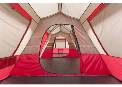 Photo of 15 Person Cabin Tent Camping Three Room Split…