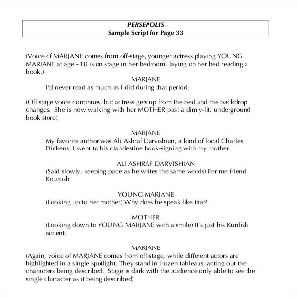 script writing template template pinterest resume sample