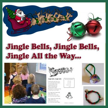 Who Doesn T Love Jingle Bells This Collection Of Jingle Bell Crafts Rhymes And Songs Will Have Children Rin Jingle Bells Jingle Bell Crafts Christmas Poetry