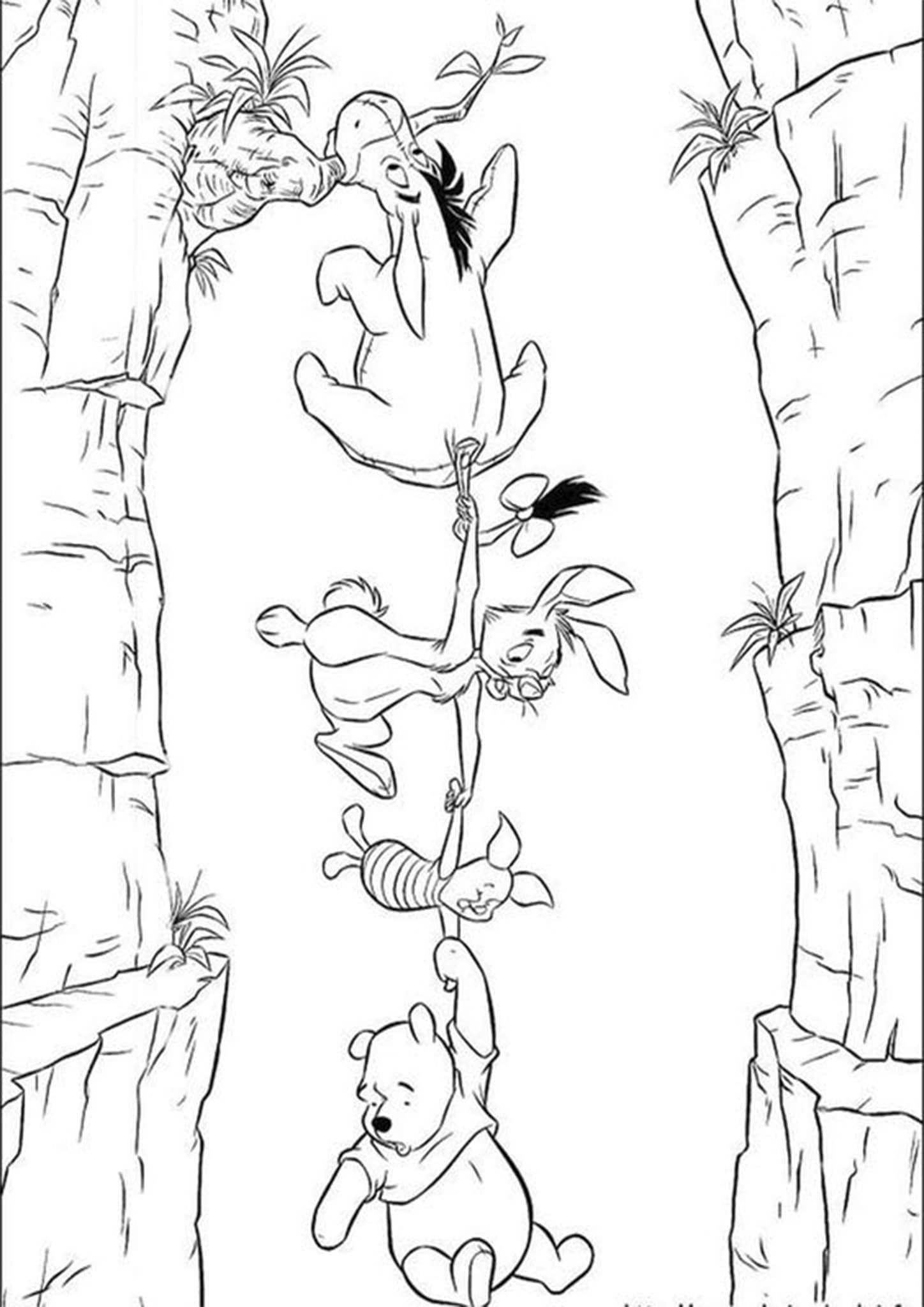 Free Easy To Print Winnie The Pooh Coloring Pages Disney Coloring Pages Coloring Pictures Disney Colors
