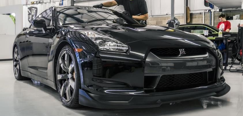 Time to start shining up Cats Exotics Nissan GT-R with an Enthusiast Detail!