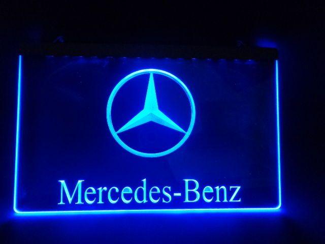 mercedes benz neon | Mercedes - Benz 3D Led reclame verlichting neon - Catawiki