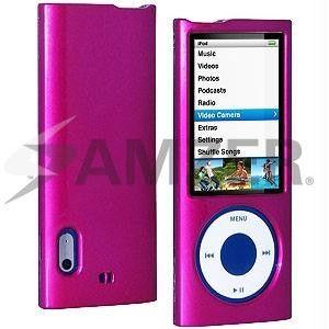 Amzer Polished Rose Pink Snap On Crystal Hard Case