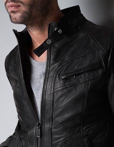 Zara leather jacket price