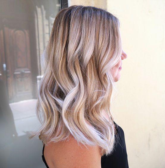 Melissa m balayage blond montpellier balayage californien coiffeur  coloriste Santé Des Cheveux, Cheveux Blond,
