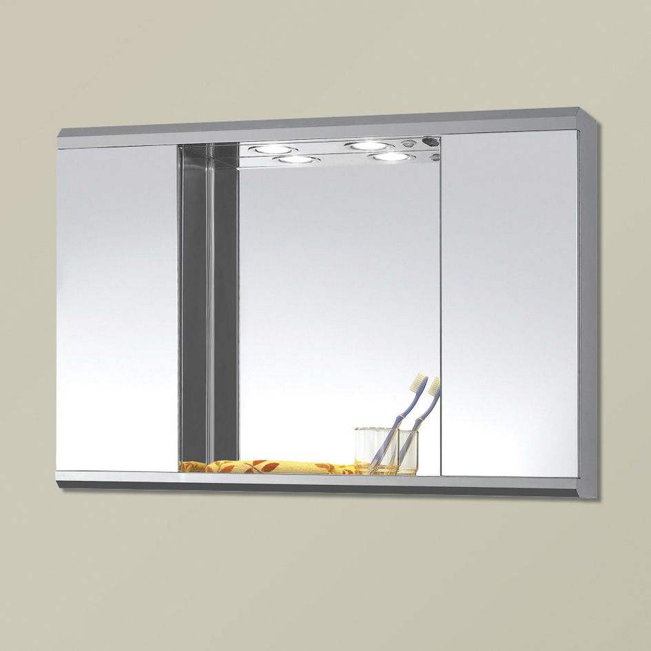 Cabinet mirror bathroom - Find This Pin And More On Bathroom Bathroom Illuminated Bahtroom Mirror Cabinets