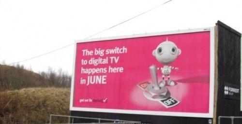 Billboard Advertising in Denbighshire #shetlandislands