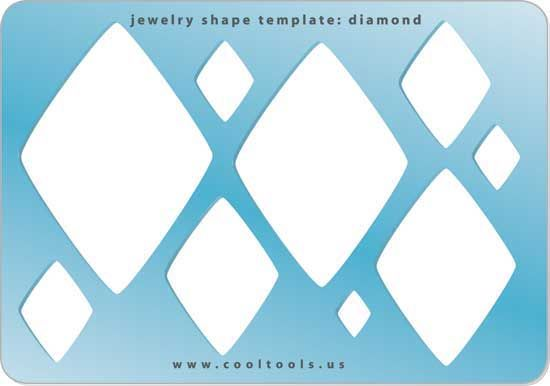 Jewelry Shape Template - Diamond