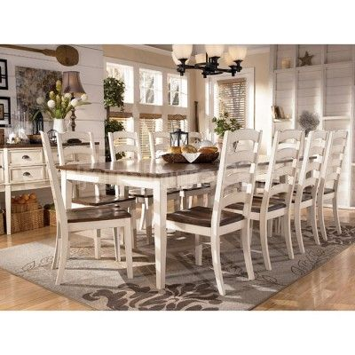 Whitesburg Formal Dining Room Set w/ 2 Chair Choices Well made