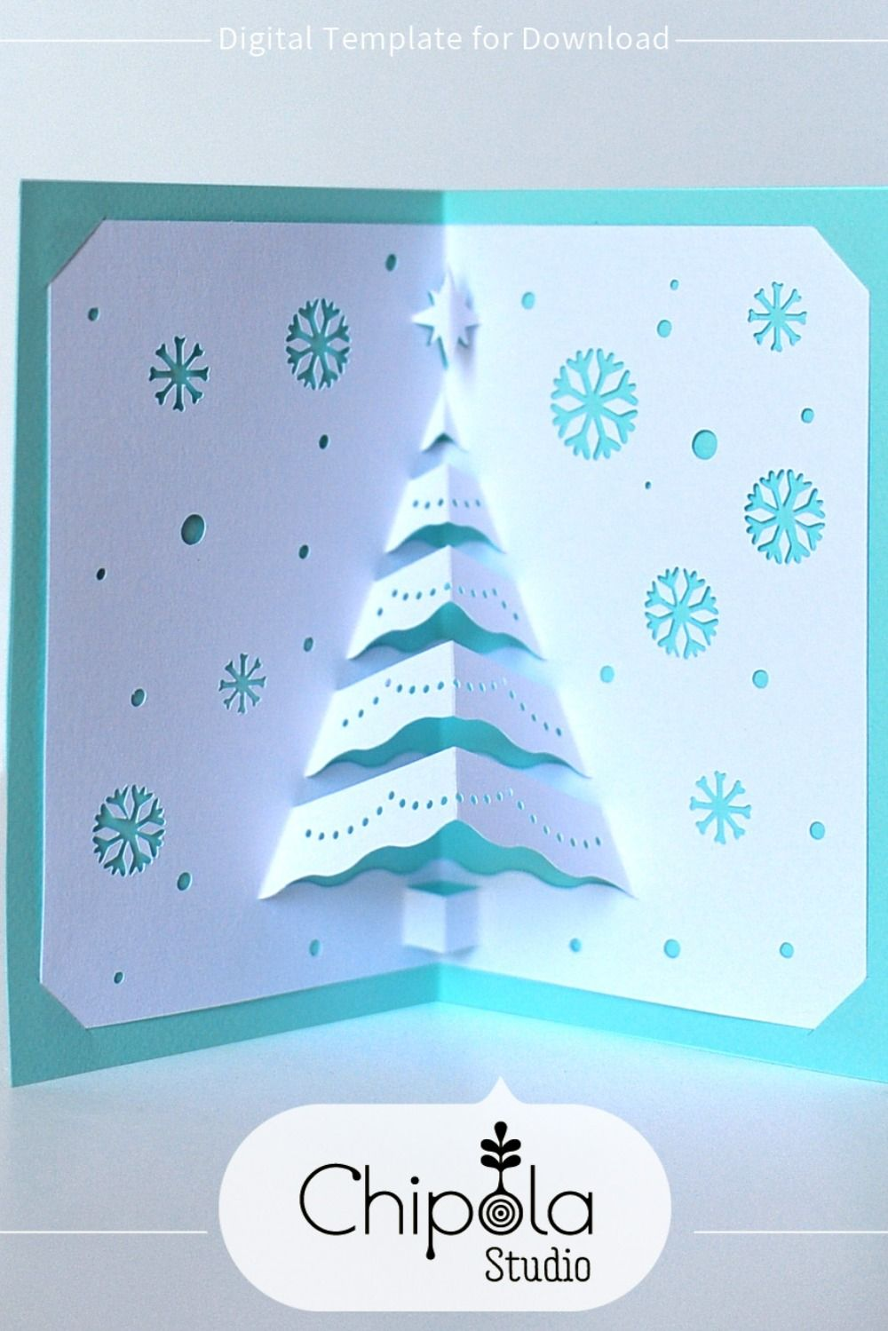 Seventh, it is estimated that 3d christmas cards craft. Pin On Paper Art By Chipola