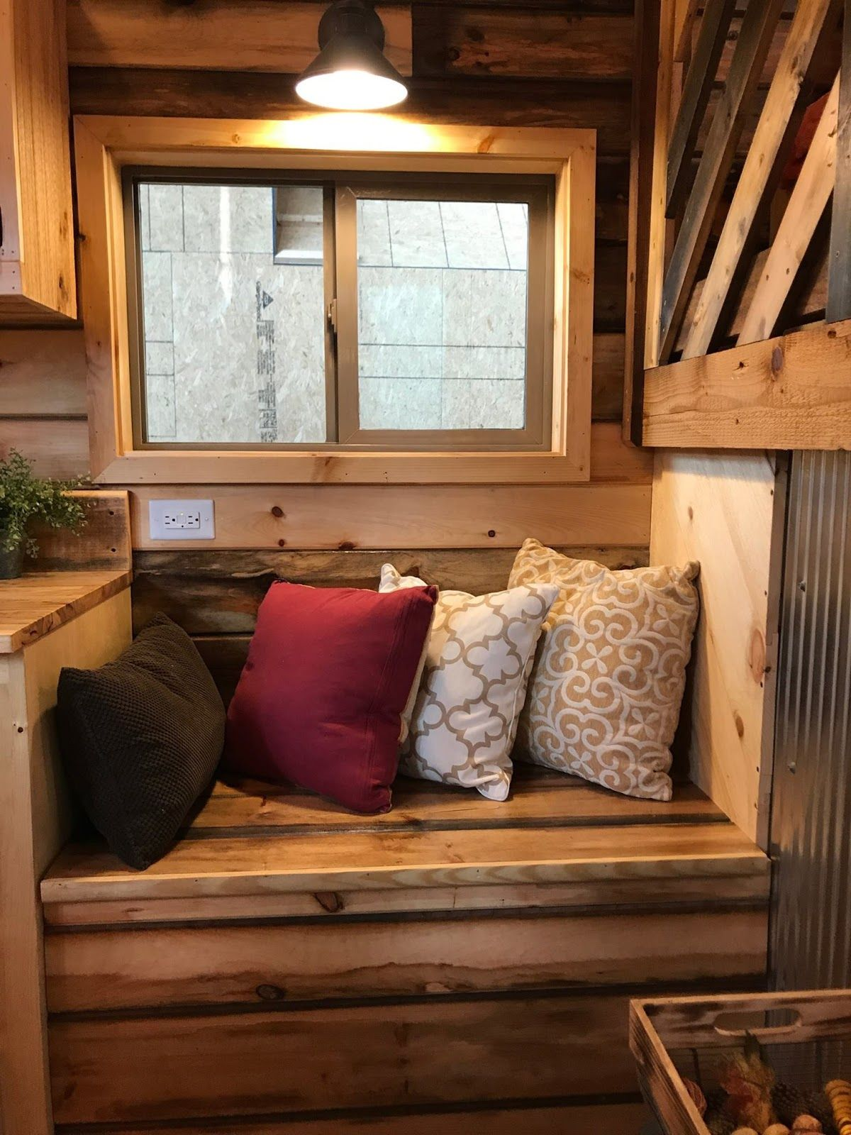 the coyote cabin a tiny house built onto a gooseneck trailer by rh pinterest com