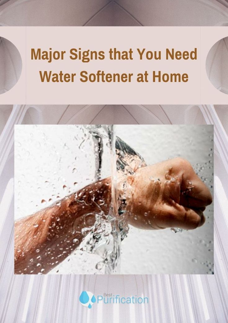 Is A Water Softener Necessary Here are the major signs that you need water softener in your home