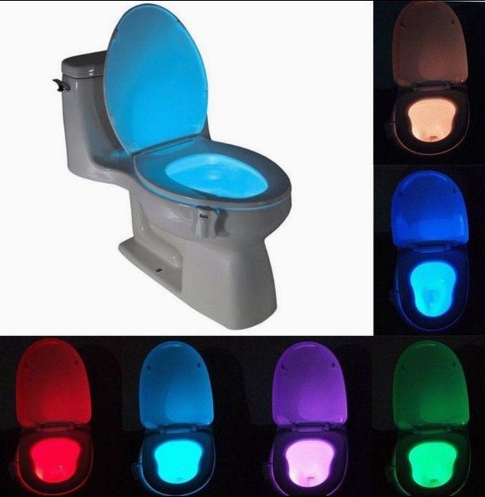 Night Lights Home Garden Toilet Bowl Light Bowl Light Sensor Night Lights