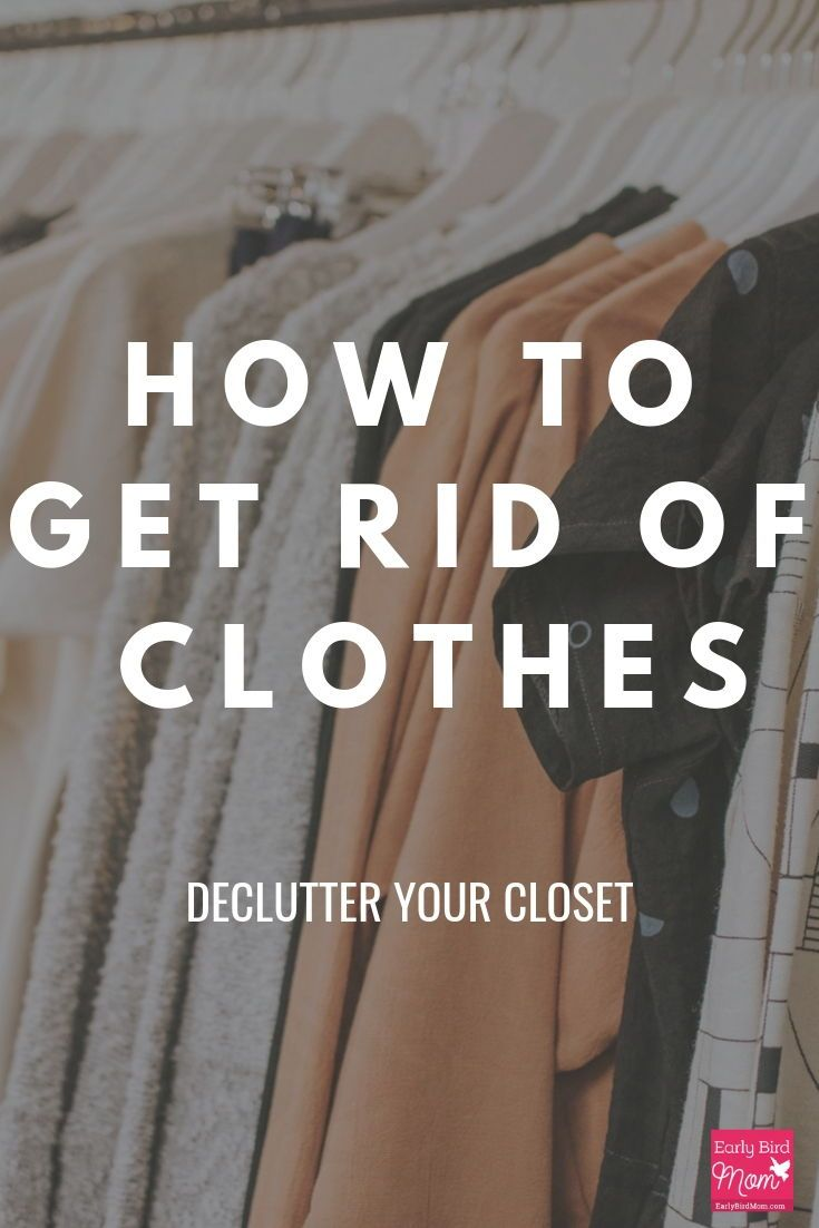 When and how to get rid of clothes -   18 DIY Clothes Storage life changing ideas