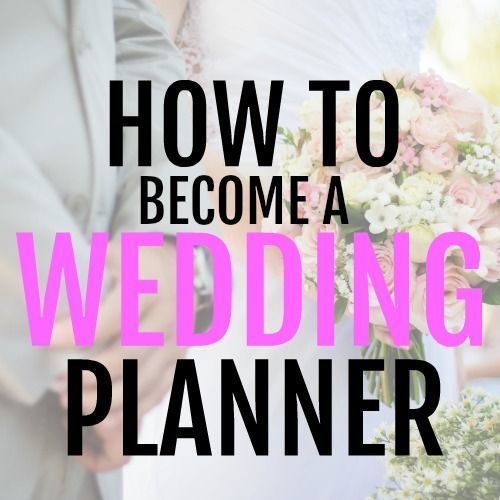 Being A Wedding Planner Is The Ultimate Side Hustle Make Extra Money By Working From